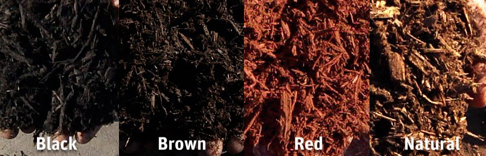 Mulch Color Variants